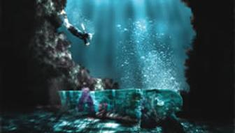 Create an underwater scene