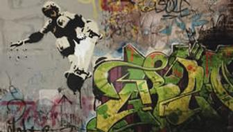 Paint digital graffiti onto photos