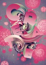 Create 3D type art using Photoshop CS5