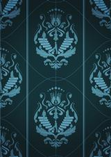 Design damask patterns for wallpaper and homewares