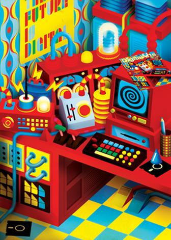 Create quirky 3D imagery in Illustrator