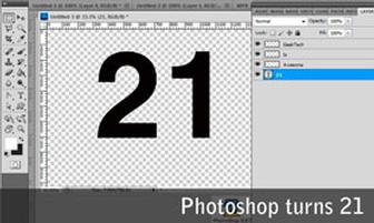 Adobe Photoshop celebrates 21st birthday