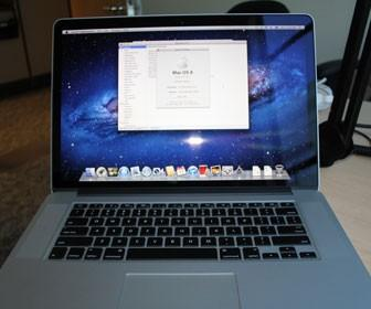 First look: Apple MacBook Pro with Retina display
