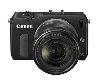 Canon officially launches pint-sized EOS M, it's first 'compact system camera'