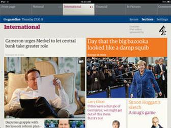 Interview: Guardian editor Alan Rusbridger discusses the design of its new iPad app
