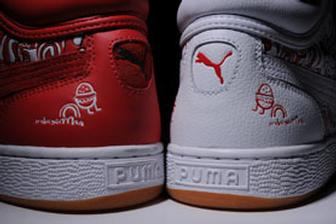 Burgerman and Puma team up on trainers