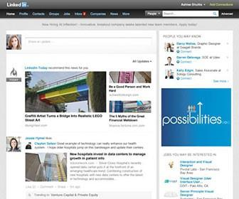 LinkedIn redesigned to add more graphics, feel more like Facebook