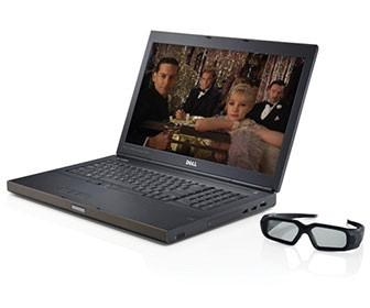 Dell launches first laptop with a stereo 3D screen for creative pros