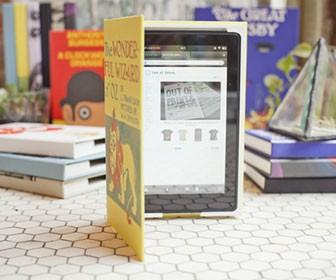 Dress up your iPad, Kindle or Nexus 7 as a vintage book
