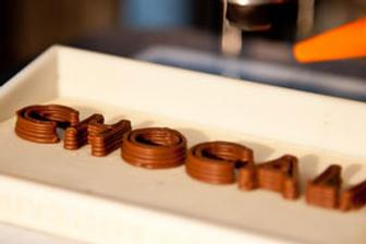 University of Exeter designs printer that prints chocolate