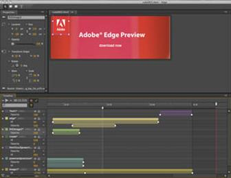 Adobe releases Edge, a free tool for HTML5 animation & interactive design