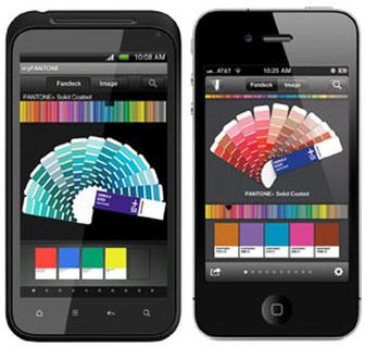 Pantone upgrades iPhone/iPad app, launches Android app