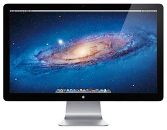 Apple launches 27-inch display with Thunderbolt connection