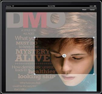 Woodwing enables sharing in iPad magazines