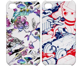 Iconemesis offers iPhone cases with illustrated designs