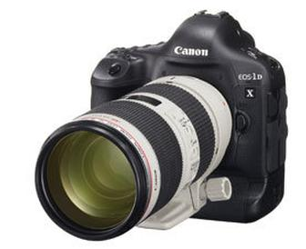 Canon announces April ship date for EOS-1D X pro digital SLR camera