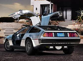 New electric DeLorean is back from the future