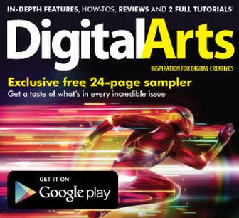 Digital Arts magazine now available on Android through Google Play. Free preview issue included