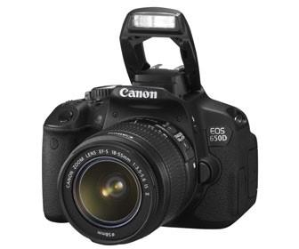 Canon launches EOS 650D digital SLR with 18mp sensor and flip-out touchscreen