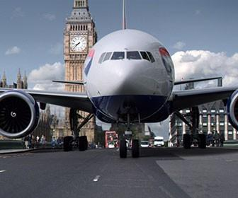 Framestore reveals effects work behind BA's '777 drives through London' ad