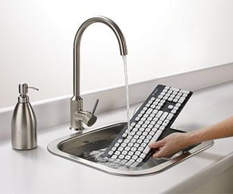 Logitech's washable keyboard ends coffee disasters