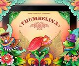 Classic fairytale Thumbelina brought to life as an iPad storybook with beautiful illustrations