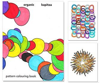 Kapitza holds open studio to launch pattern colouring book