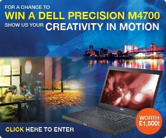 Show us your creativity in motion for a chance to win a Dell Precision M4700 worth £1,500!