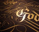 Seb Lester shows off new type work drawing on calligraphy