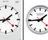 Apple 'pays out £13 million' for using classic Swiss clock design in iOS 6