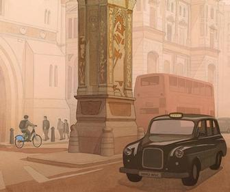 London Transport Museum showcases illustrations of 'Secret London'