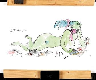 D&AD auctions art from Quentin Blake, Neville Brody, Terry Gilliam, Nick Knight and Rankin