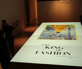 Framestore creates projection-mapped animated rose for Somerset House's Valentino's exhibition