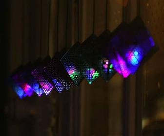 Moving Brands mixes conductive inks, papercraft and Arduino to create a glowing Christmas ornament
