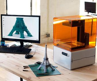 Formlabs Form 1 3D printer uses lasers to create more intricate objects