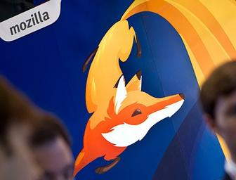 Wolff Olins designs a fun fox character for Mozilla's Firefox OS branding