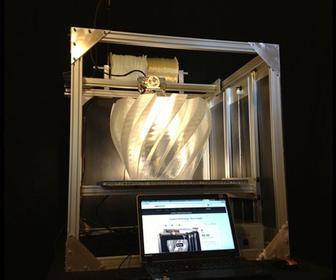The Gigabot is a large-format 3D printer