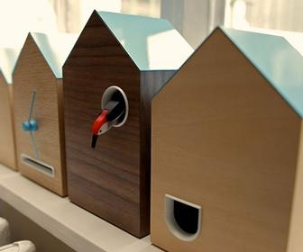 Berg creates #Flock, a Twitter-driven cuckoo clock