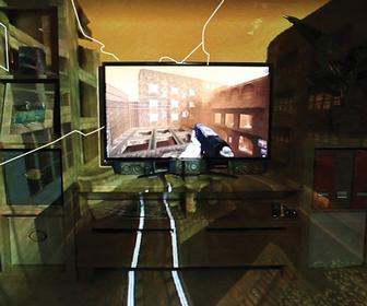 Microsoft turns a room into a video game with Kinect-based IllumiRoom project