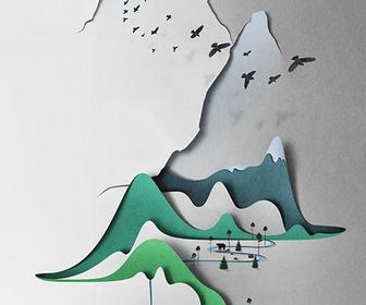 Eiko Ojala discusses digital papercut techniques