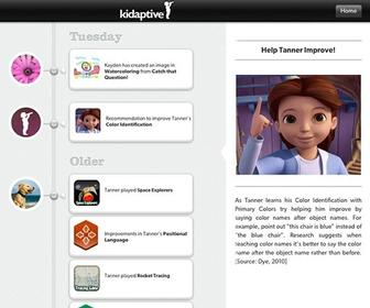 Adaptive learning app lets parents track what kids have learned