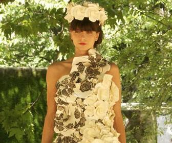 Stunning paper dresses take to the catwalk for Coronation Festival at Buckingham Palace