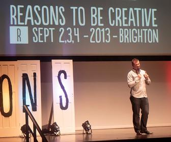 Reasons to be Creative organiser reflects on why the best talks are about passion