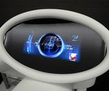 Mitsubishi shows the future of car dashboard interface design