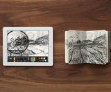 Turn your iPad sketches into a printed Moleskine