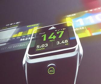 Adidas and Fjord create a smartwatch that's designed for runners