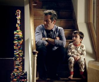 Lego ad shows creativity bringing a dad and son together