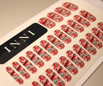 Inni lets you order false nails with your own art and designs on them