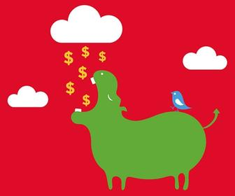 New from the Twitter Fail Whale artist: the IPO Hippo