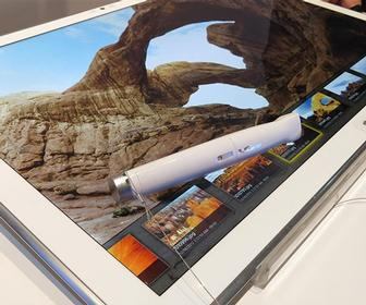 Panasonic's gigantic 4K tablet will finally be released in January